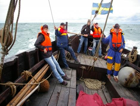 segling till Anholt